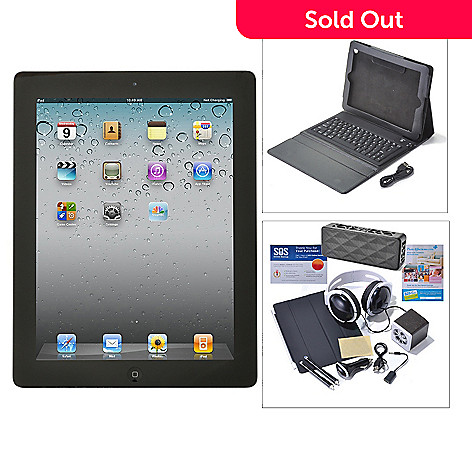 436-271 - Apple iPad 4th Gen 9.7'' Wi-Fi or Wi-Fi+4G Tablet w/ Accessories Kit