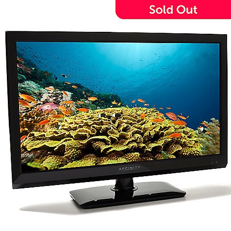 436-279 - Affinity 24'' Ultra-Thin LED 1080p HDTV w/ Built-in DVD Player
