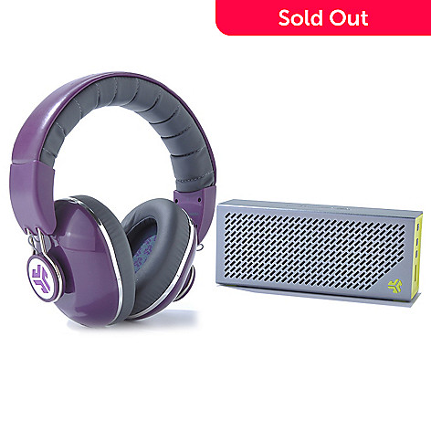436-310 - JLab Crasher Bluetooth® Speaker & Bombora Over-the-Ear Headphones
