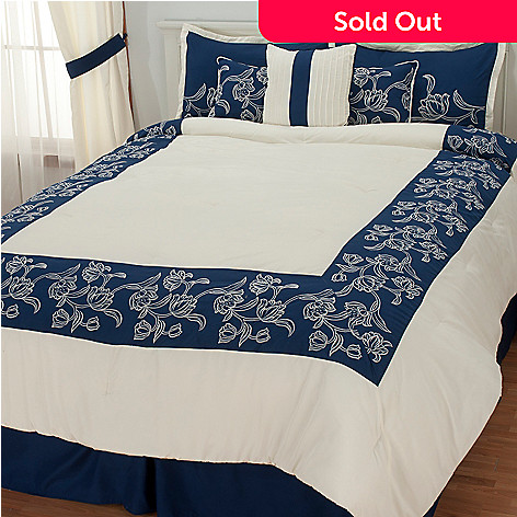 436-346 - North Shore Living™ ''Sarasota'' Seven-Piece Bedding Ensemble