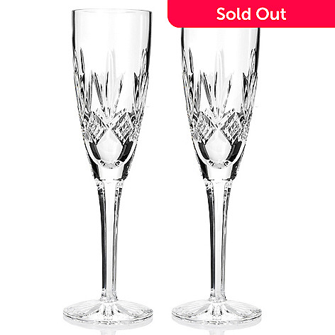 436-363 - Waterford® Crystal Kelley Set of Two 5 oz Flutes