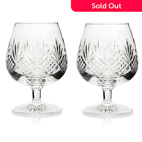 436-364 - Waterford® Crystal Kelley Set of Two 12 oz Brandy Glasses