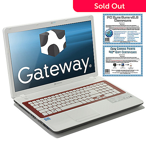 436-386 - Gateway® 17'' Intel Core i5 4GB RAM/500GB HD Notebook w/ Accessories Kit
