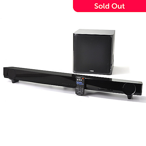 436-393 - Yamaha 7.1-Channel Surround Sound 160W Sound Bar & Subwoofer Speaker System