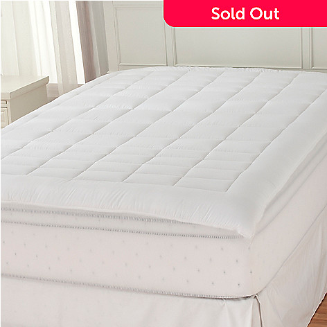 436-409 - Cozelle® Microfiber Zoned Stain & Water Resistant Mattress Pad
