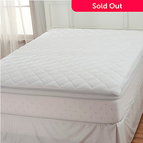 436-410 - Cozelle® Microfiber All Season Reversible Mattress Pad