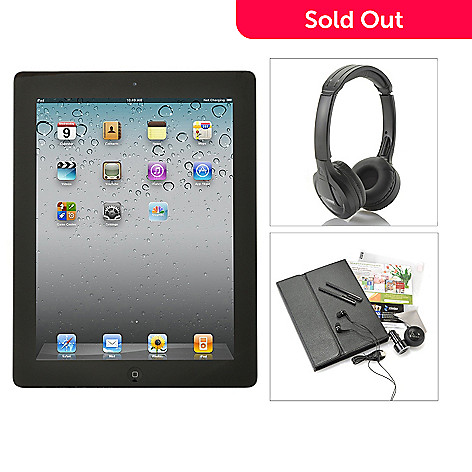 436-418 - Apple® iPad® 9.7'' 4th Gen Retina Display Tablet w/ Bluetooth® Accessories
