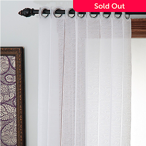436-419 - Cozelle® Lace Knit EZ Slide Window Panel