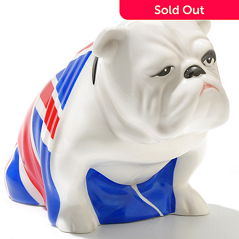 436-428 - Royal Doulton® 3.75 Bone China Hand-Decorated Bulldog Figurine