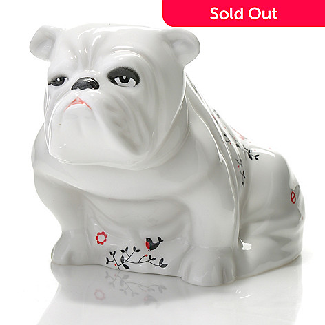 436-432 - Royal Doulton Alfie 3.75'' Bone China Bulldog Figurine - Signed