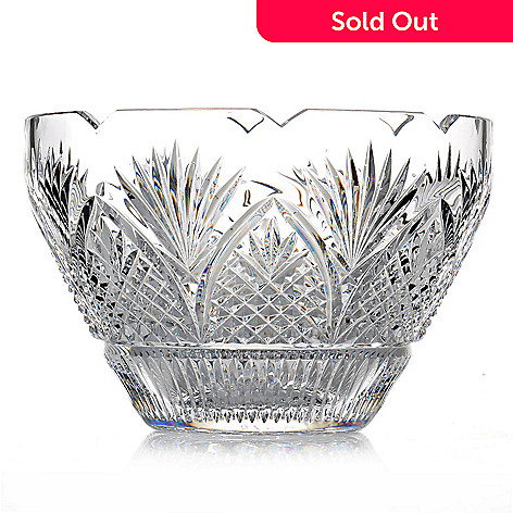 436-436 - House of Waterford Viking Limited Edition 10'' Crystal Bowl