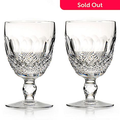 436-441 - Waterford Crystal Colleen Set of Two 8 oz Goblets