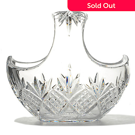 436-442 - Waterford Crystal Kelley 7.5'' Basket - Signed by Jorge Pérez