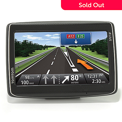 436-480 - TomTom Go Live 5'' Bluetooth® GPS w/ HD Traffic, Lifetime Maps & Voice Recognition