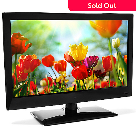 436-589 - GPX® 19'' LED HDTV w/ Built-in DVD Player