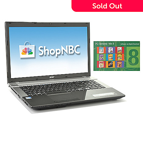 436-653 - Acer Aspire 17.3'' Intel® Pentium® 4GB RAM/500GB HD Notebook w/ Software