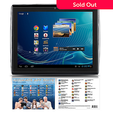 436-782 - LePan II 9.7'' GOOGLE CERTIFIED 8GB Android 4.0.4 Tablet w/ 25 App Titles