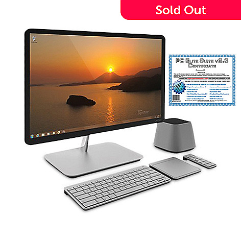 436-783 - Vizio 24'' HD LED Intel® Core™ i3 4GB RAM/500GB HD All-in-One Desktop w/ Software Suite