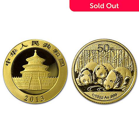 436-840 - 2013 50 Yuan1/10 oz GoldChina Panda Coinw/ Display Box