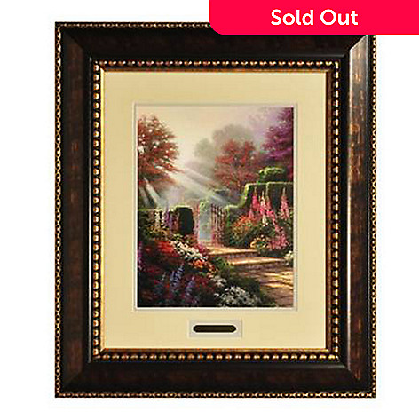436-865 - Thomas Kinkade Prestige Home Collection ''Garden of Grace'' Framed Print