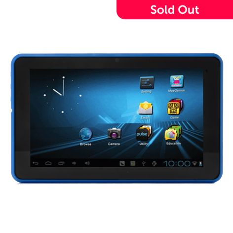 - D2 Pad® Google Certified Android™ 4.1 4GB Storage Wi-Fi Tablet