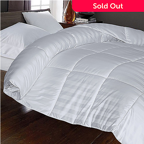 436-878 - Cozelle® 230TC Cotton Striped Damask Down Alternative Comforter