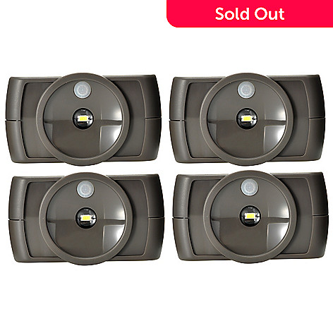 436-897 - Mr. Beams® 4-Pack Slim LED Motion Sensor Under Cabinet Lights