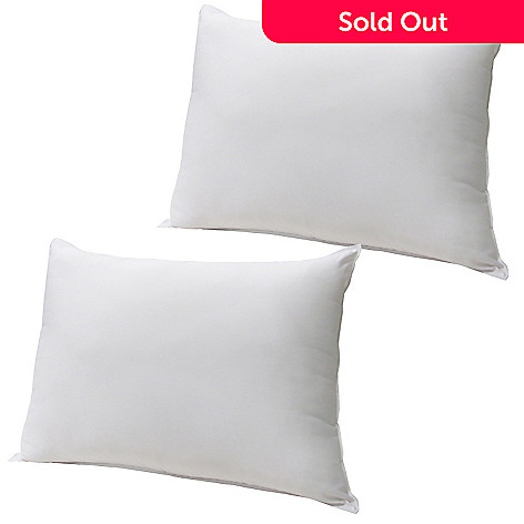 436-942 - SensorPEDIC® Microfiber Memory Loft Set of Two Pillows