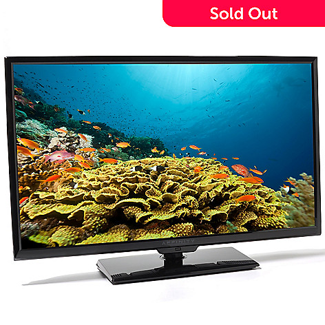 436-972 - Affinity 32'' Ultra-Thin LED 720p HD 60Hz TV w/ Tabletop Base