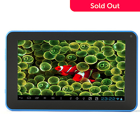 436-974 - D2Pad™ 7'' Multi-Touch LCD Android 4.1 Tablet w/ 4GB Storage & Pre-loaded Apps