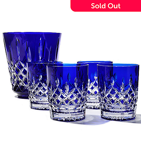 437-000 - Waterford® Crystal Lismore Cobalt Six-Piece Drinkware Set