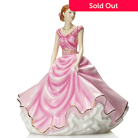 437-016 - Royal Doulton Petites Donna: 2013 Figure of the Year Bone China Figurine