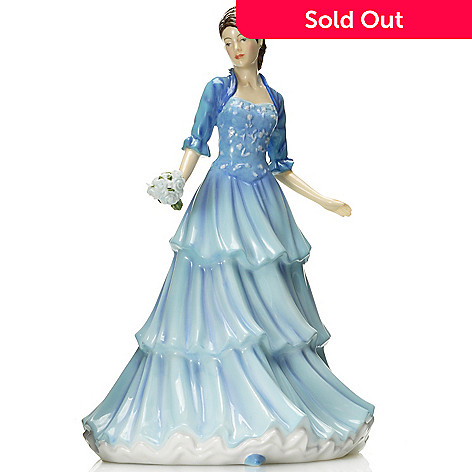 437-017 - Royal Doulton® Pretty Ladies: Kathy 9'' Bone China Figurine