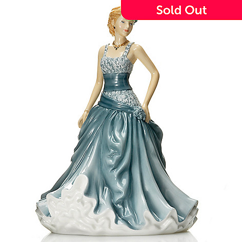 437-018 - Royal Doulton Pretty Ladies: Angela 9'' Bone China Figurine