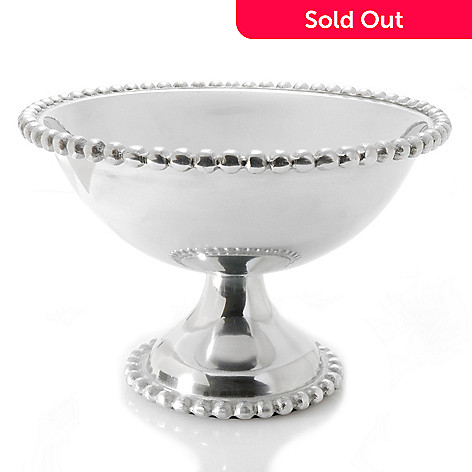 437-045 - Jorge Pérez Imperial Bead 10.5'' Polished Footed Bowl Server
