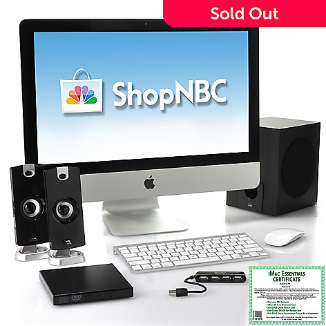 437-067 -  Apple® iMac® 21.5'' Intel Core™ i5 8GB RAM/1TB HD All-in-One Desktop w/ Accessories