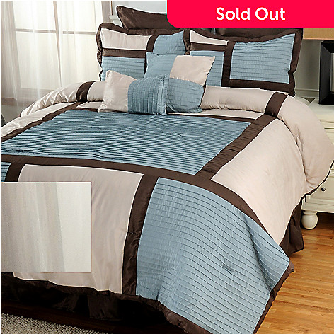 437-118 - North Shore Linens™ ''Seraphim'' Eight-Piece Bedding Ensemble