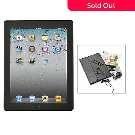 437-308 - Apple® iPad® 9.7'' 4th Gen Wi-Fi or Wi-Fi+4G Tablet w/ Bluetooth® Accessories Kit