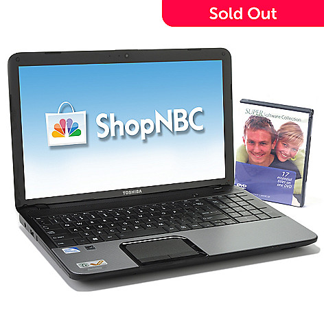 437-321 - Toshiba 15.6'' Intel® Pentium® 4GB RAM/500GB HD Windows 8 Notebook w/ Software