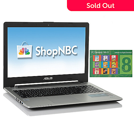437-355 - ASUS® 15.6'' LED Intel® Core™ i3 4GB RAM/500GB HD/24GB SSD Ultrabook w/ Software