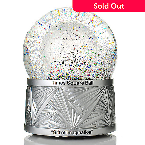 437-366 - Waterford® Crystal Holiday Heirlooms 2014 Times Square Limited Edition 8'' Snowglobe