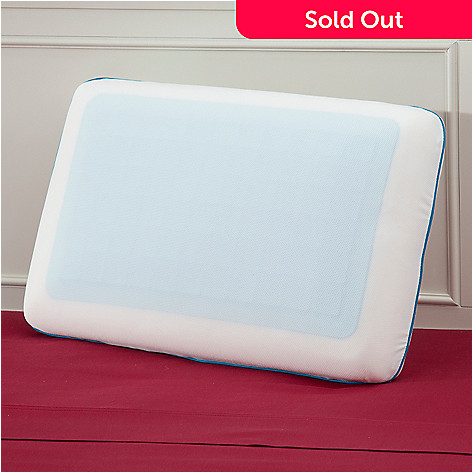 437-495 - Cozelle® Memory Foam Pillow w/ Cooling Gel Layer