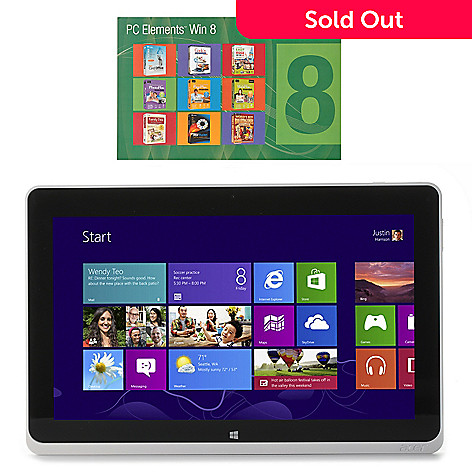 437-498 - Acer Iconia 10.1'' HD LCD Windows 8 64GB Wi-Fi Tablet w/ Software Downloads