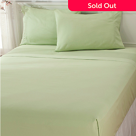 437-547 - North Shore Linens™ 650TC Cotton Sateen Four-Piece Sheet Set