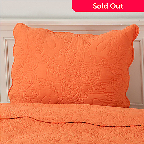 437-555 - North Shore Living™ Medallion Embroidered Microfiber Sham