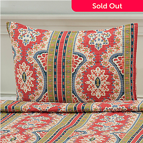 437-557 - North Shore Linens™ ''Kaleidoscope'' Cotton Sham