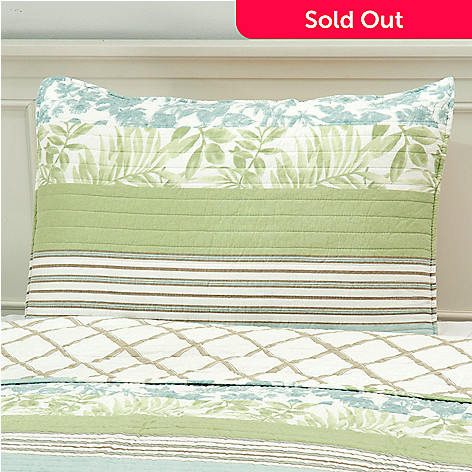 437-559 - North Shore Linens™ ''Tropical'' Cotton Sham