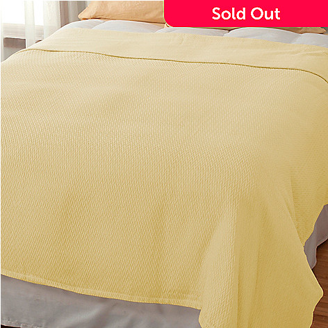 437-613 - Cozelle® 100% Cotton Jacquard Blanket