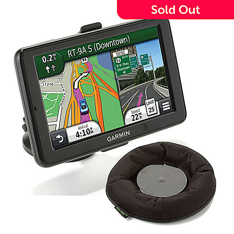 437-653 - Garmin nüvi 2595LMT HD 5'' Bluetooth® Lifetime Maps & Traffic GPS w/ Universal Nat-Mat Mount