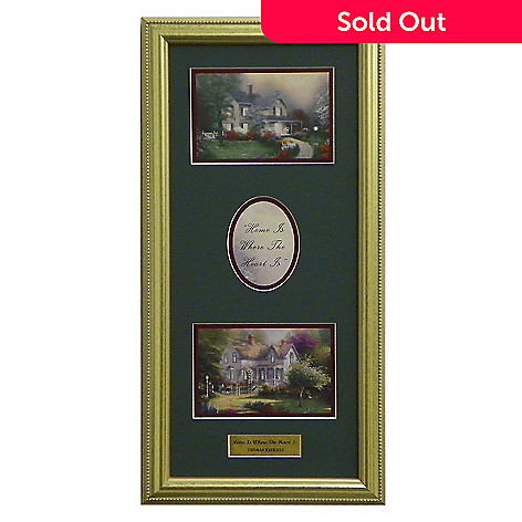 437-713 - Thomas Kinkade Portfolio Collection ''Home'' Framed Print